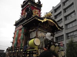 川越祭 犬連れ