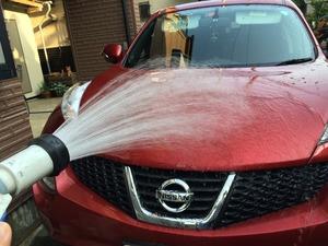 JUKE 洗車 自宅