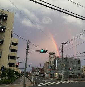 虹 運気アップ
