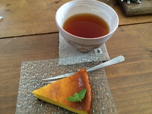 かぼちゃケーキ ゴールデンレトリバー