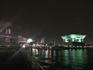 夜景 横浜 犬連れ