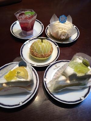 コージーコーナー ケーキ 夏休み