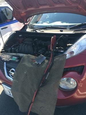 JUKE バッテリー 修理