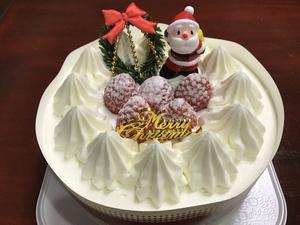 クリスマスケーキ 犬とクリスマス