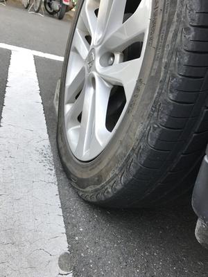 タイヤパンク 修理
