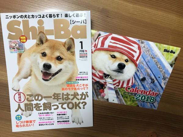 Shi-Ba 1月号発売です!