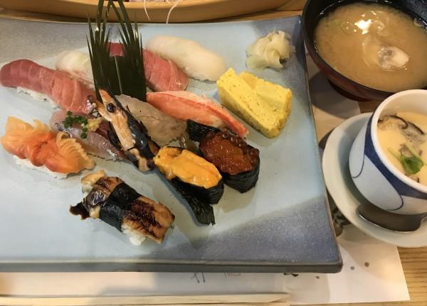 お寿司屋さんで思い出す