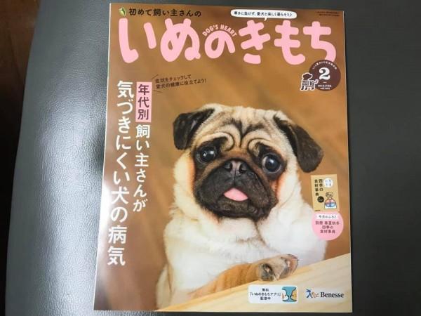 いぬのきもち 2月号発売!